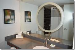 Hyatt bathroom mirror