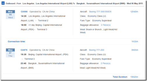 LAX-BKK-2 $680 Air China May 15