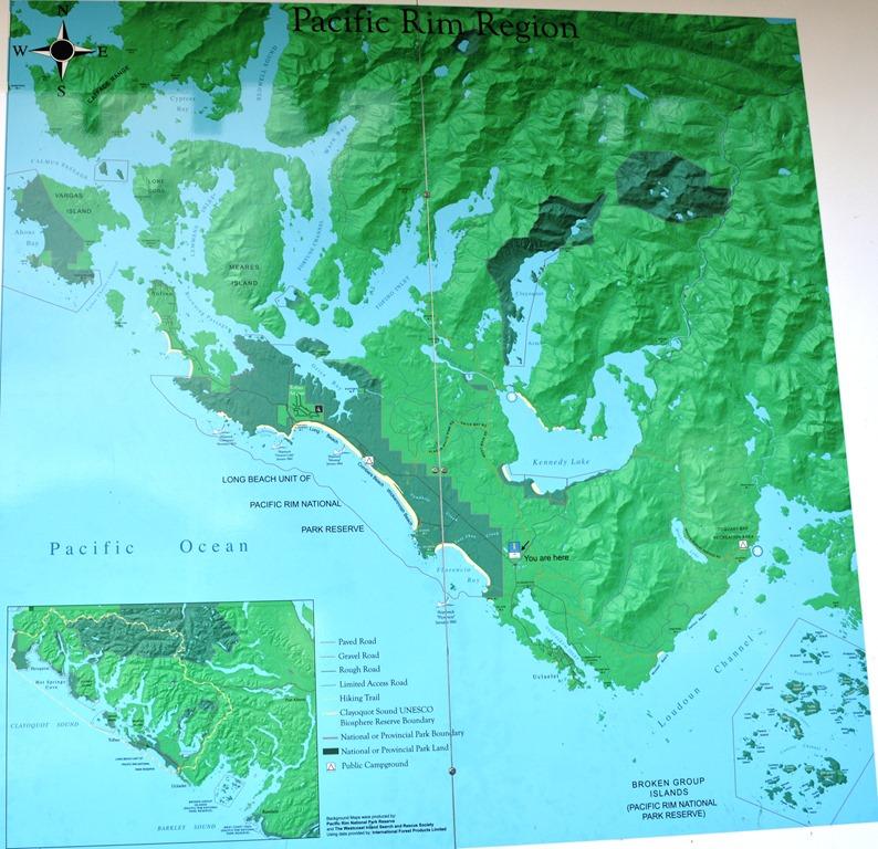 Victoria To Tofino Driving Vancouver Island, British Columbia
