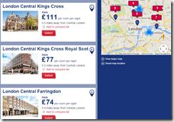 Travelodge UK July 7-10 rates