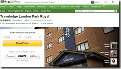 TripAdvisor Travelodge London Park Royal reviews