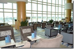 Fairmont YVR lounge