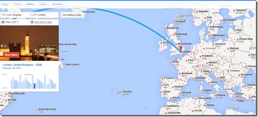 Google Flights LAX one way Oct 7