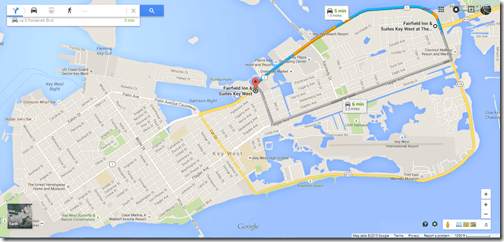 Google Maps Key West