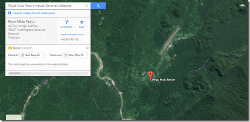 Google Maps Marriott Mulu