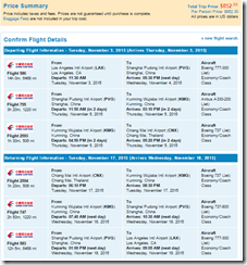 LAX-CNX Chiang Mai China Eastern $852 Nov15