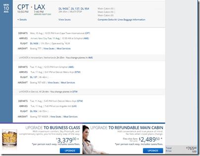 LAX-CPT DL $766-2