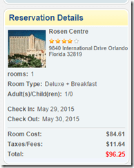 Rosen Centre Hotel $97 Kayak Private Deal