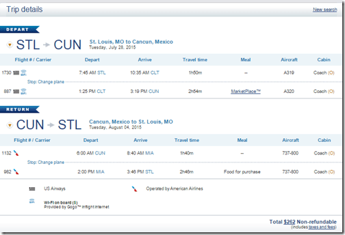 STL-CUN $262 US