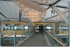 Walkway to Fairmont YVR
