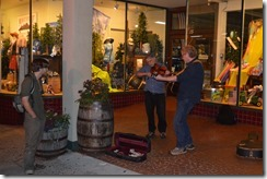 Biltmore Ave buskers
