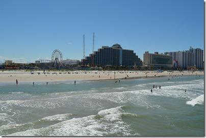 Daytona Beach Pier view
