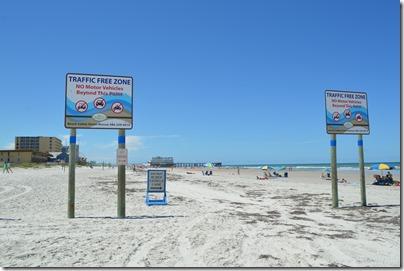 Daytona Beach car free