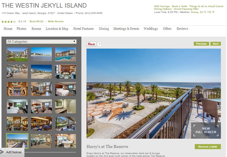Harry S Rooftop Jekyll Island