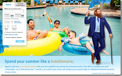 Wyndham 3000 points summer 2015