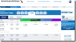 BGO-SFO AA $364 Oct6-20