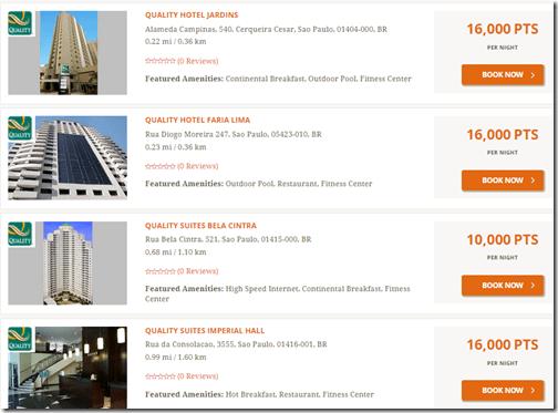 Choice Hotels Sao Paulo