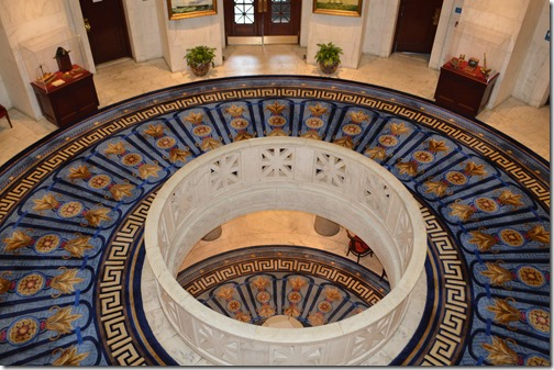 Custom House rotunda view