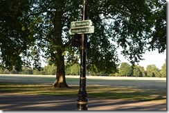 Hyde Park Paddington sign