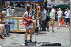 Solo singer Quincy Market
