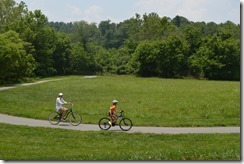Biltmore cyclists