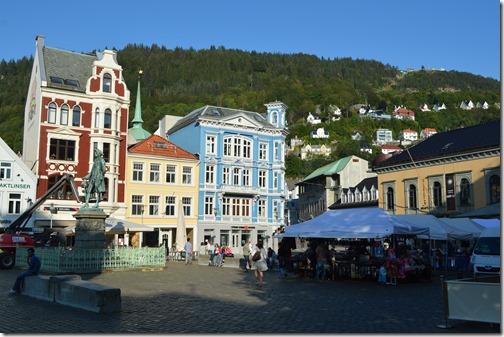Bergen City view Floyen