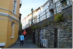 Bergen stairs to Floyen