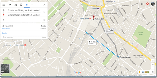 Google Maps Comfort Inn Westminster