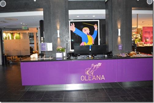 Hotel Oleana reception