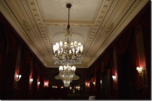 Lobby level grand hall