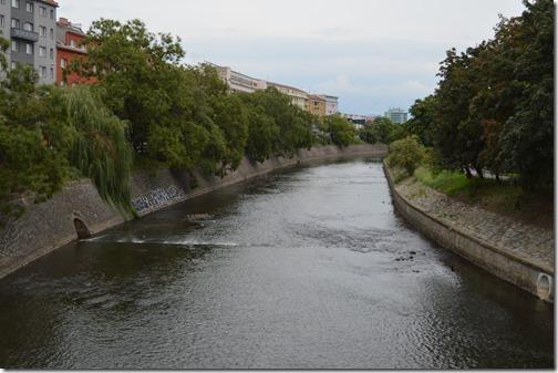 Svratka River Brno