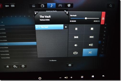 The Vault controls