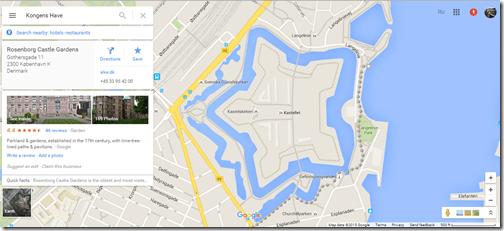 Copenhagen Google Maps Kastellet