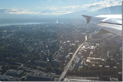 Geneva from air