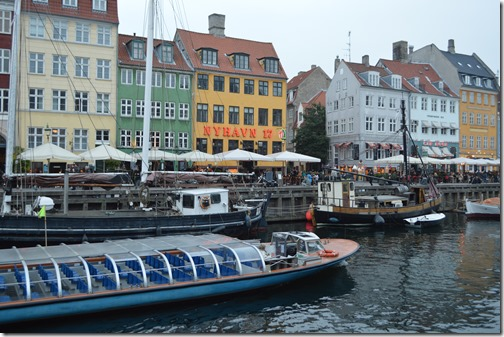 Nyhavn canal boat