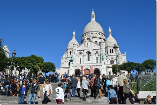 Sacre-Coeur daylight