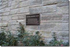 Wash Hilton 1981 plaque