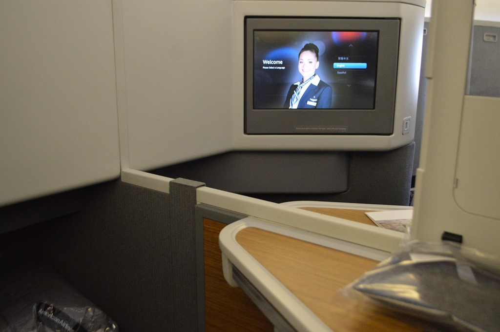 Review Aa Lhr Lax 777 300er Business Class Using My First