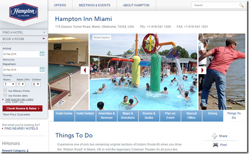 Hampton Inn Miami OK