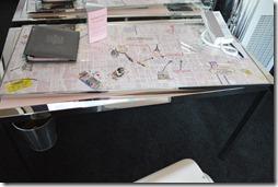 SLS desk map