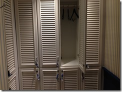 Amstel Hotel pool lockers