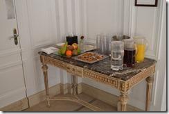 Amstel Hotel pool snacks