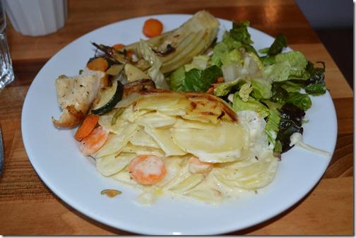 Clarion Malmo dinner
