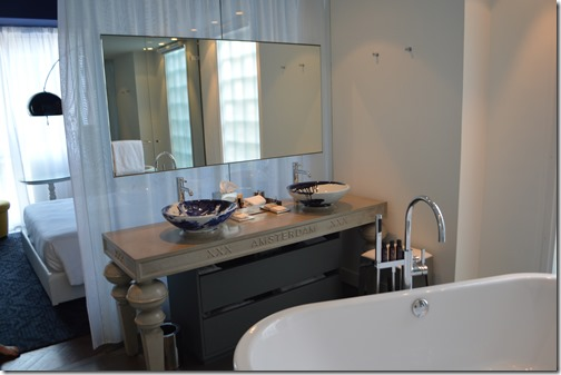 Andaz Suite bathrrom sinks