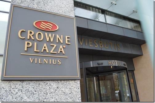 CP Vilnius sign