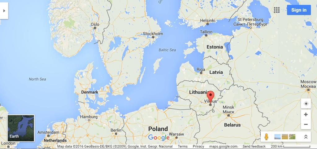 Greetings from Vilnius, Lithuania - Loyalty Traveler