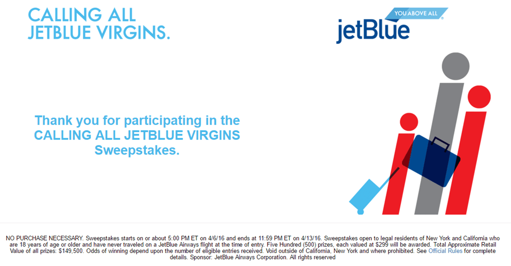 official rules sweepstakes jetblue virgins free round trip ticket sweepstakes ca ny 8341