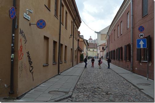 Vilnius cobbled street