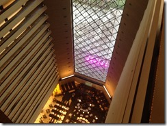 Hyatt atrium