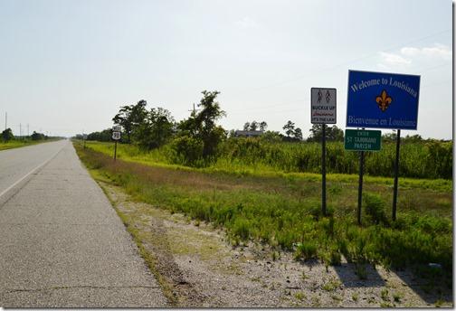 Louisiana State Line